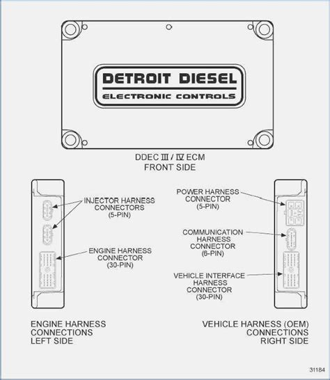 Detroit Diesel Series 50 Wiring Diagram by Detroit Wiring Diagram Get Wiring Diagram