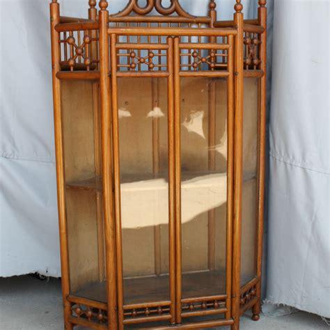 antique oak corner china cabinet bargain s antiques 187 archive antique oak stick 7482