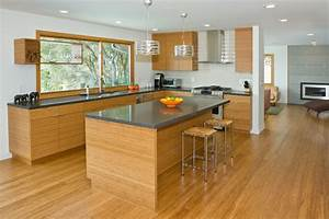 Bamboo kitchen modern kitchen san francisco by for Bamboo kitchen