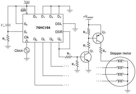 Stepper Motors Digital Circuits Worksheets