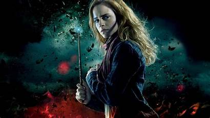 Potter Harry Hermione Wallpapers Deathly Hallows Granger