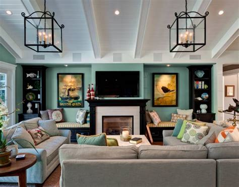 Living Room Design Around Fireplace by 30 Multifunctional And Modern Living Room Designs With Tv
