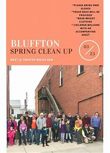 First community spring clean up Saturday | The Bluffton Icon