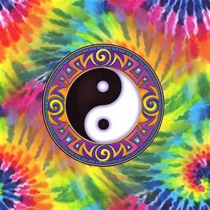Yang Ying Dye Tie Yin Hippie Psychedelic