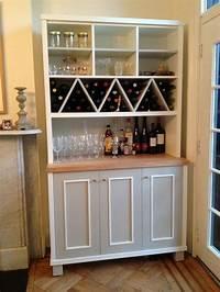 kitchen storage units Zigzag Shaped Wine Racks with Multi Purposes Kitchen Wall ...