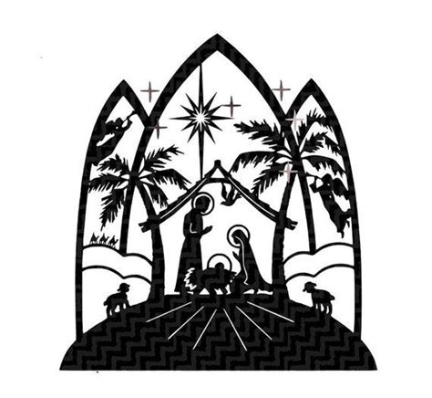 Remember, we include assembly videos for all of our free svg files, you'll. Nativity Scene SVG This digital artwork can be used by ...