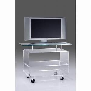 Meuble Tv Haut : meuble tv transparent haut astra ~ Teatrodelosmanantiales.com Idées de Décoration