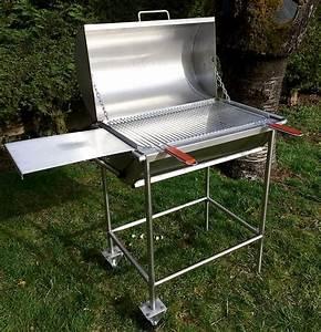 Faire Une Plancha : barbecue inox fait maison you barbecue ~ Nature-et-papiers.com Idées de Décoration