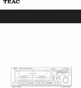 Teac Cassette Player W