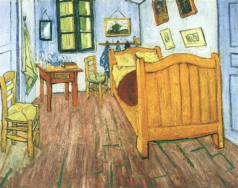Gogh Bedroom At Arles by Gogh S Quot Bedroom At Arles Quot Aesthetic Realism Foundation