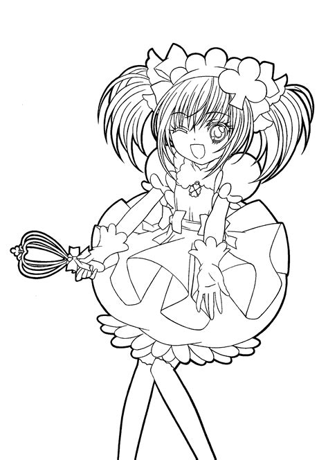 Free Anime Girl Coloring Page Free Printable Coloring