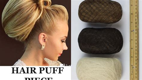 hair padding hair puff piece chignon insert volume front