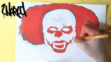 comment dessiner clown de cirque youtube
