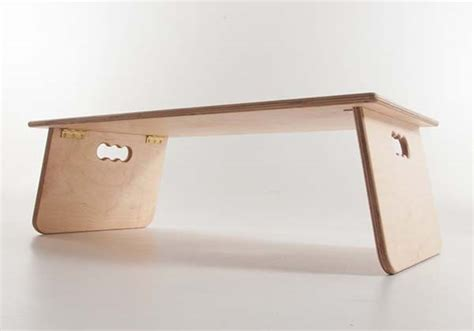 fold away computer desk the handmade fold away laptop desk by bee9 gadgetsin