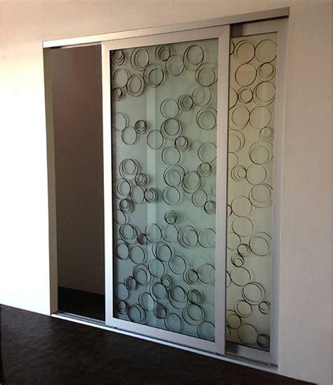 ellipsed wood rings sliding closet doors room dividers