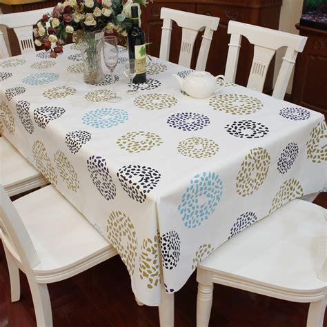nappe de cuisine multi taille pvc imperméable nappe cercle point motif table de la cuisine de la maison