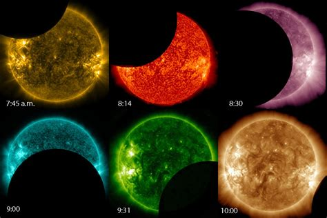 what color is the sun a secret solar eclipse from outer space