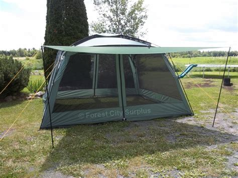 cing tents and screen house gazebos with flaps