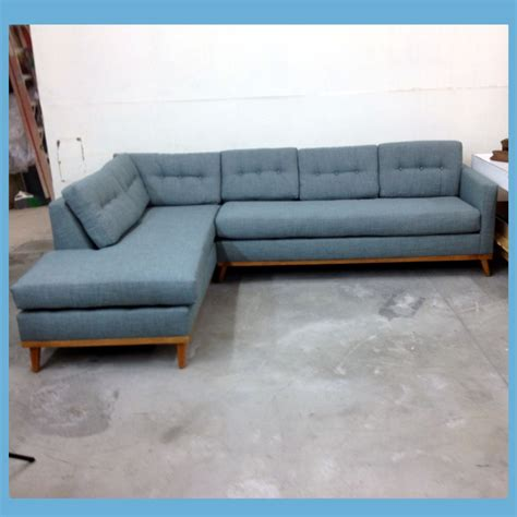 blue mid century modern sofa light blue mid century modern sectional with danish frame