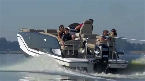 Deck Boat Element by 2015 Bayliner Element Xr7 Deck Boat
