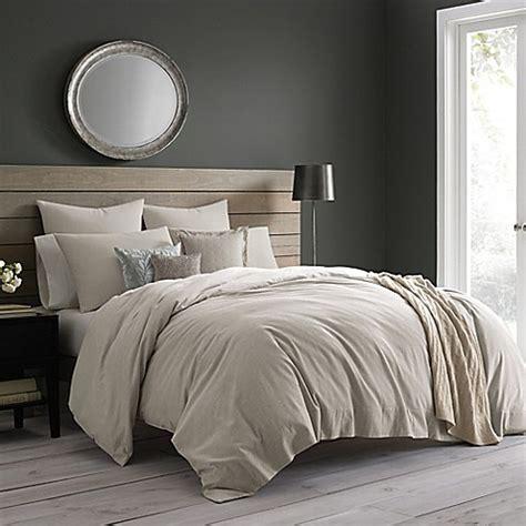 wamsutta vintage cotton cashmere duvet cover bed bath
