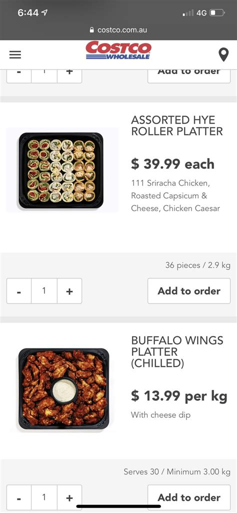 Serve the chicken wings hot or at room temperature with the blue cheese dip and celery sticks. Costco Pinwheels | Roasted capsicum, Sriracha chicken ...