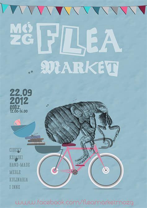 flea market posters  behance