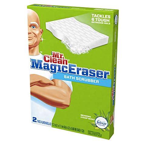 mr clean magic eraser bath scrubber 2 count boxes pack