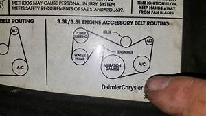 Serpentine Belt Diagram For A Chrysler