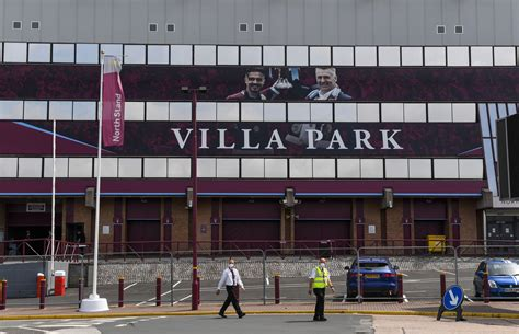 Villa Park: Pictures of an abandoned Aston Villa matchday ...