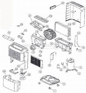 Fedders A3dh30b2a Parts