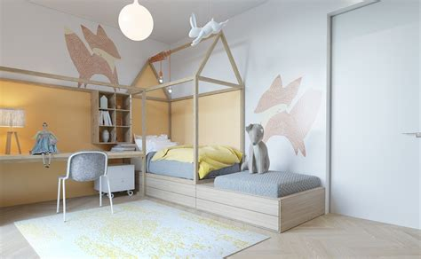 Kids Rooms : Super Stylish Kids Room Designs