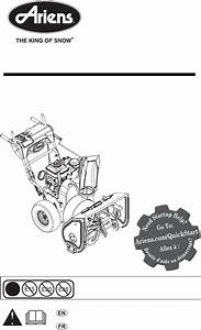 Ariens Snow Blower 921029 User Guide