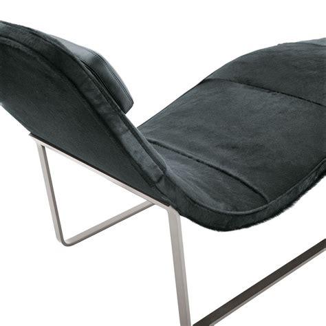 chaise longue en tissu chaise longue rembourrée en tissu landscape by b b italia
