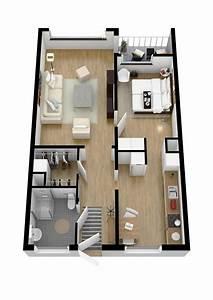 40, More, 1, Bedroom, Home, Floor, Plans