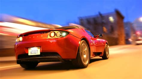 tesla roadster wallpapers hd images wsupercars