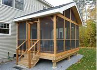 build a porch 15 DIY Screened In Porch-Learn how to screen in a porch – The Self-Sufficient Living