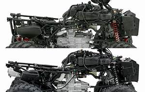 2016 Honda Foreman Vs Rubicon Atv   Comparison Review