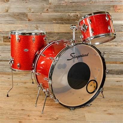 Slingerland Drum Sparkle Kit Drums 70s 3pc