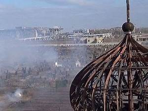 Iveron Convent In Donetsk Shelled With Incendiary Shells