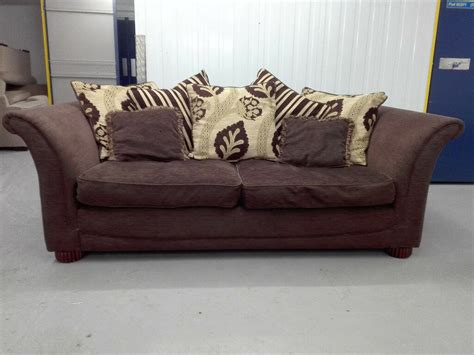 Dfs Settee by Dfs 3 Seater Sofa Settee Chocolate Brown Color In