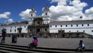 Iglesia San Francisco De Quito Ecuador