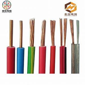 China 1 5mm 2 5mm Single Core Pvc Coated Copper Electric