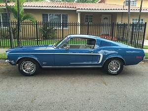 1968 Ford Mustang GT Fastback S code 390, with Matching Numbers - Classic Ford Mustang 1968 for sale