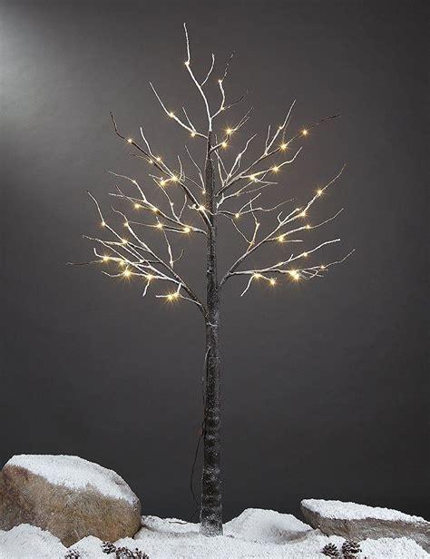 white christmas lights amazon amazon com lightshare 4 39 lighted snow tree small