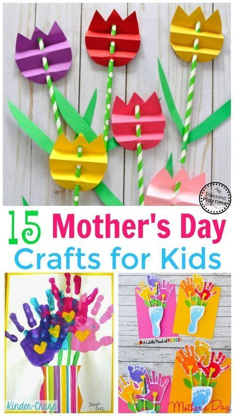 cute mothers day crafts  kids mothers day crafts