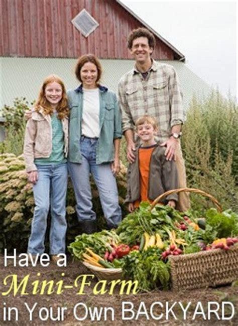 Self Sufficient Backyard by Backyard Farm Design And Plan