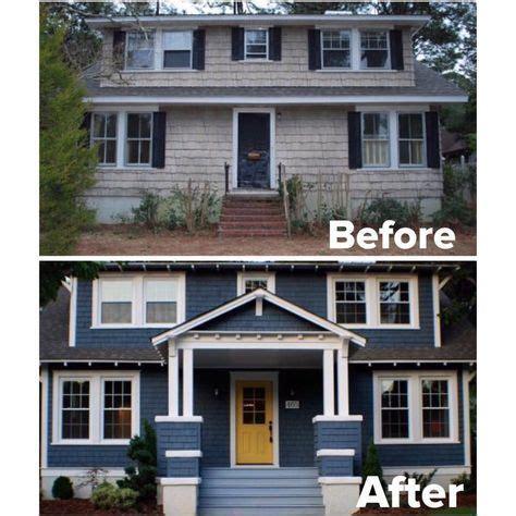 home exterior makeover ideas  pinterest brick