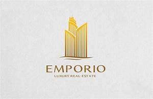 Template Real Estate 20 Business Logos Free Editable Psd Ai Vector Eps