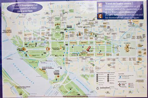 National Mall Washington DC Map